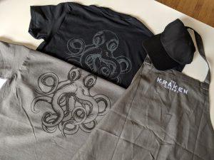 kraken chippy custom aprons